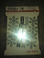 Recollections Christmas Mini Banner - Snowflakes -#1406