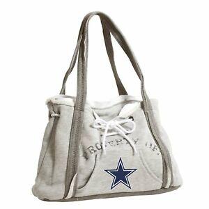Ladies Embroidered Hoodie Purse Handbag - Dallas Cowboys - NFL