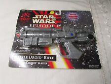 Star Wars Episode 1 Battle Droid Rifle Power Soaker Blaster NIB