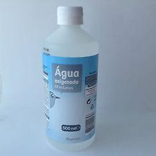 Hydrogen Peroxide Bottle 500ml 3% 10 Vols First Aid  Antiseptic Free shipp UK/UE