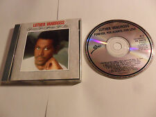 LUTHER VANDROSS - Forever For Always For Love (CD 1987) AUSTRIA Pressing