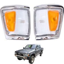 1988-1997 Toyota Hilux Indicator Signal Corner Lamp Light Ln106 4Wd Pickup Pair