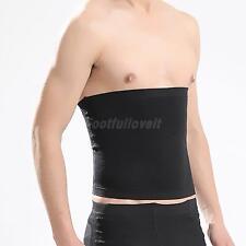 Men Waist Trainer Cincher Slimming Body Shaper Belly Tummy Trimmer Girdle S