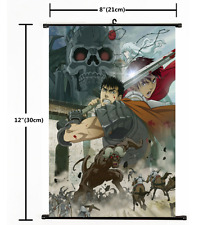 Hot Anime BERSERK Kentaro Miura Wall Poster Scroll Home Decor Cosplay 2528