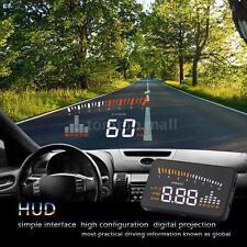 Car HUD Head Up Display KM/h & MPH Speeding Warning Windshield Project 6D7L