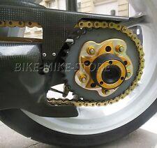 LIGHTECH Crash pad Sturzpad ► Radachse hinten GOLD Ducati Monster 1100 11-13