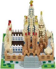 Kawada Nanoblock Sagrada Familia Spain Building Deluxe Edition NB-028 From Japan