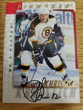 1997-98 Be A Player Autographs #61 Dimitri Khristich