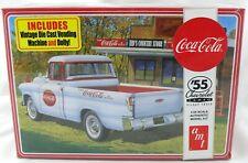 1:25 Scale Coca-Cola 1955 Chevrolet Cameo Pickup Truck Model Kit - AMT #1094/12