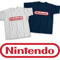 Classic Red Nintendo Symbol Title Video Game Mens Womens Kids Unisex Tee T-Shirt