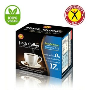 Nature Gift Black Coffee Plus Coenzyme Q10 Weight Loss Slimming 10 Sachets