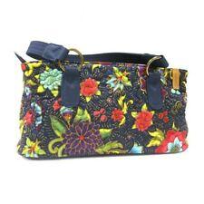 Donna Sharp Bali Multi Color Reese Bag Handbag Purse Navy Blue Red Green