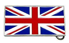 BANDIERA UNION JACK Cintura Fibbia Inghilterra Scozia Galles Irlanda N prodotto autentico