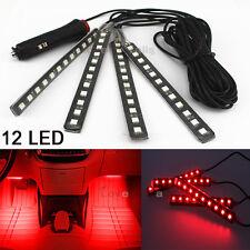 Red Color Bar Glow Dash Footwell Interior Light 5050 LED Strip Lamp For Honda