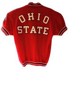 1960 NCAA Basketball Champs Player Worn Ohio State Buckeye Shooters Shirt Warmup