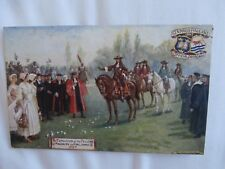 Oxford Pageant 1907 Official Postcard The expulsion of the Fellows of Magdalen