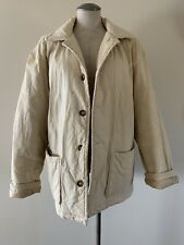 United Colors of Benetton Men's Coat Jacket Beige Size XL 48