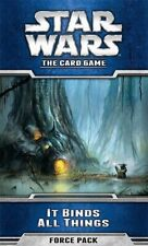 Star Wars The Card Game It Binds All Things Force Pack New (Sealed)