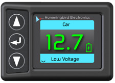 Hummingbird RF BATTERY MONITOR RECIEVER/DISPLAY HMRF0200 User Adjustable Limits