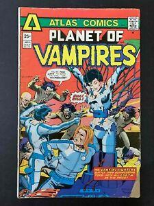 PLANET OF VAMPIRES #3  ATLAS COMICS 1975 FN