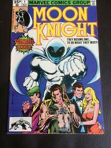 Marvel Comics Moon Knight issue 1 1980