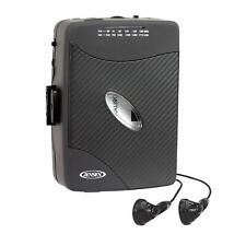 Jensen Portable Compact Design Stereo Cassette Player w/AM/FM Radio Walkman