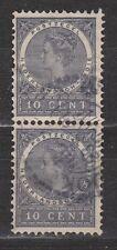 Nederlands Indie Netherlands Indies Indonesie 48 pair used Wilhelmina 1903