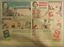 Super Suds Ad: Be On Guard Against Dangerous Germs With Super Suds ! 1940's