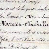 Olivier Théodose De Guigues De Moreton-Chabrillan 1866