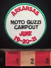 Arkansas MOTO GUZZI CAMPOUT Patch - June 19-20-21 / Motorcycle Biker 79I2