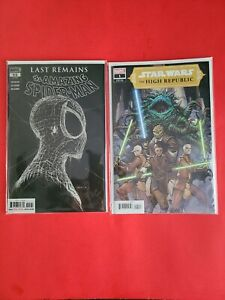 SPIDER-MAN #55 🕷 STAR WARS HIGH REPUBLIC #1 1st Print 🔥COMBO SPEC of the WEEK!