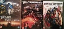 TRANSFORMERS TRILOGY 1,2,3 Michael Bay*Shia LeBouf*Megan Fox Sci-Fi DVD *EXC*