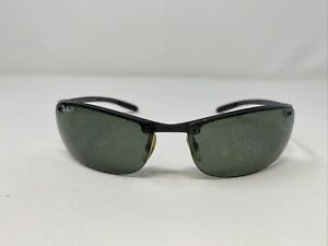 Ray-Ban Sunglasses Frame Italy RB 8305 082/9A 64-14 3P Gunmetal Half Rim RP17