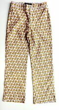 Zara Cotton Blend Regular Size Trousers for Women
