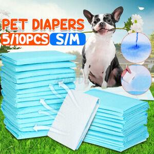 Disposable Pet Diaper Dog Cat Nappy Mat Super Absorbent Training Pads Pee  *