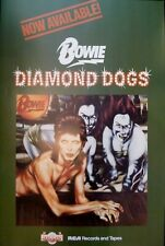 David Bowie poster - Fantastic Diamond Dogs 1974 promotional re-print