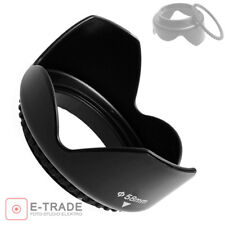 77mm Flower Petal Tulip Lens Hood Screw Mount For Canon digital Camera