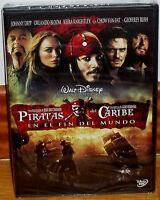 PIRATAS DEL CARIBE EN EL FIN DEL MUNDO DVD PRECINTADO NUEVO (SIN ABRIR) R2