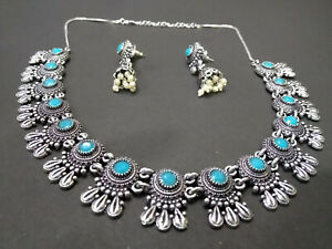 Indian Jewelery,ethnic jewellery, traditional, handmade, stones & pearl nacklace