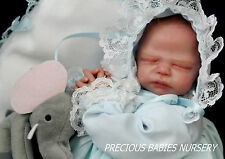 AUTHENTIC MINI BABY ZACHY-MARITA WINTERS~REBORN BY MIMADOLLS~NO A DOLL KIT~IIORA