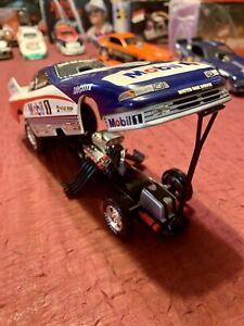 Whit Bazemore Mobil 1 1995 Dodge Funny Car 1:24 Action Diecast MOPAR RACE CAR