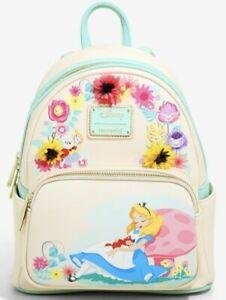 Loungefly Disney Alice In Wonderland Mini Backpack Floral Bag