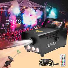 Nebelmaschine 13 farben RGB LED Fog Machine Rauchmaschine Mit Funk Fernbedienung