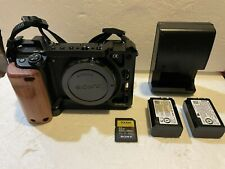 Sony Alpha A6300 24.2MP Digital Camera Body Only Excellent Condition w/Extras!
