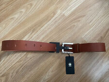 G Star New Mens Medium (94.5cm/37inches) Brown Leather Belt RRP £29.99