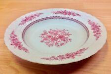 "Hutschenreuther ""Pink Bouquet"" Pattern Rimmed Soup Bowl."