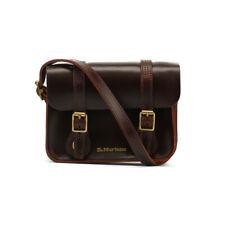 Dr. Martens Charro Brown Brando Leather Satchel 7-Inch Unisex Shoulder Bag
