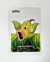 070 Weepinbell POKEMON Lamincards Collection 2005 EDIBAS Español