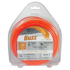 Trimmer / brush cutter cord 3.30mm - 40m square Buzz