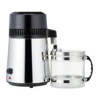 Electric Water Distiller Stainless Steel Container Filter Moonshine Still 4L